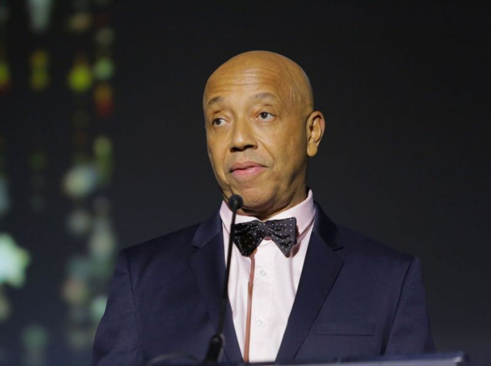 Russell Simmons, founder of Def Jam Recordings and CEO of Rush Communications