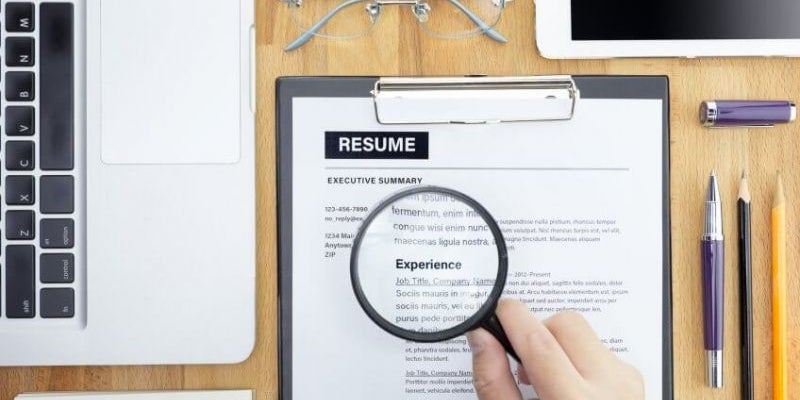 Use keywords from the job description