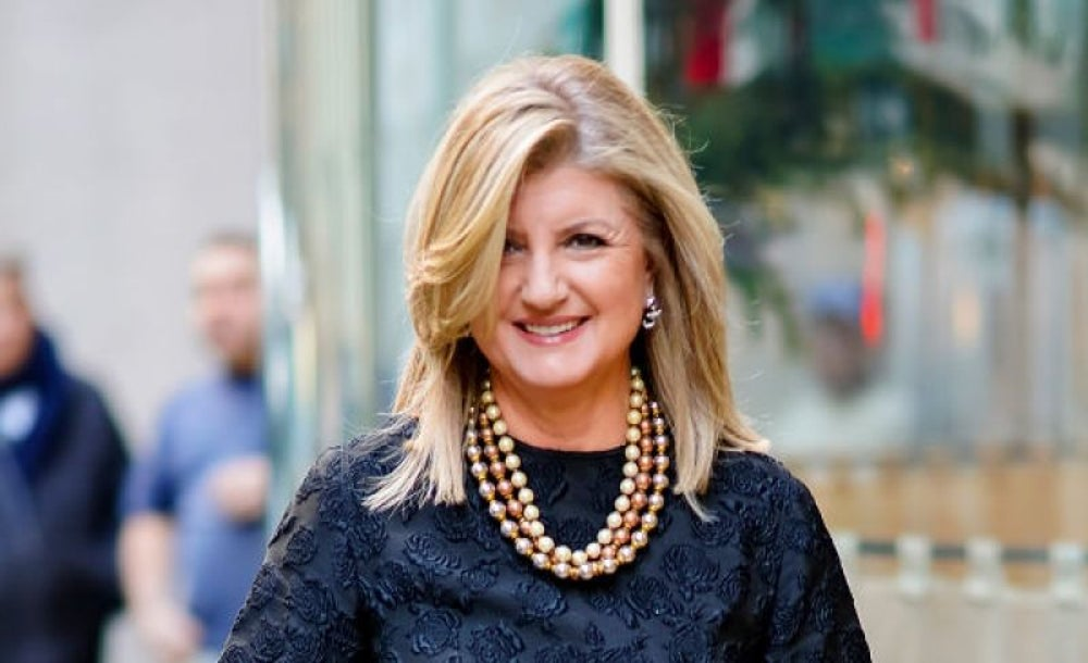Arianna Huffington, founder and CEO of Thrive Global and Huffington Post