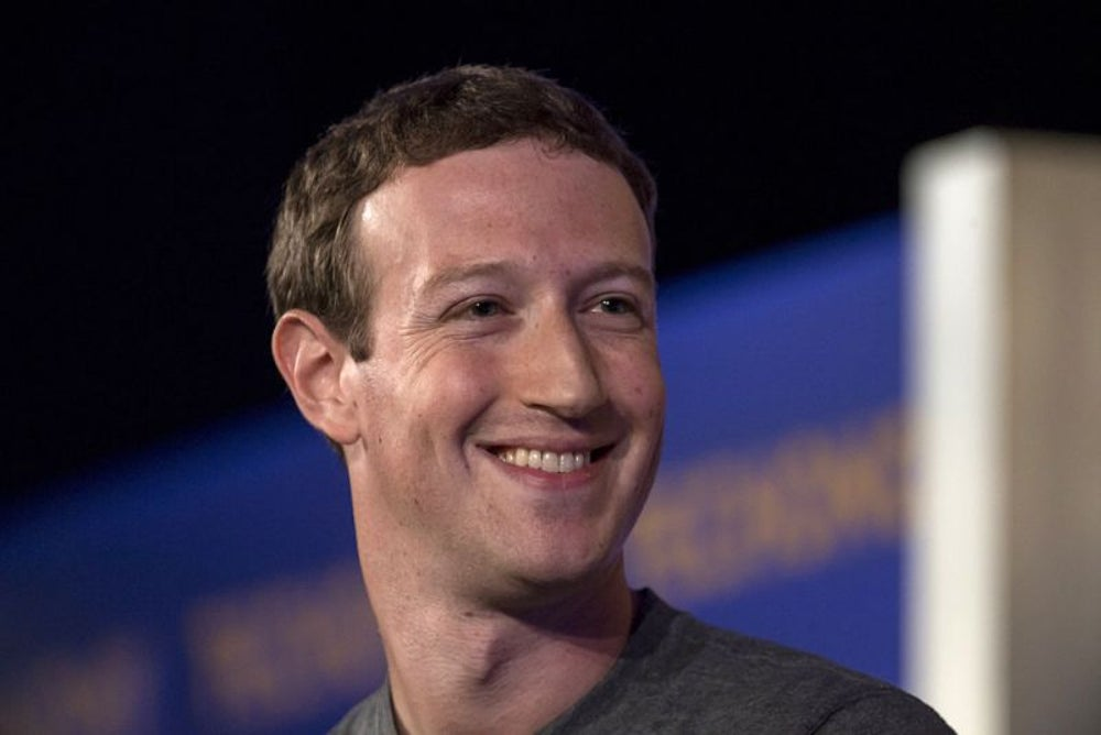 Mark Zuckerberg, co-founder and CEO of Facebook