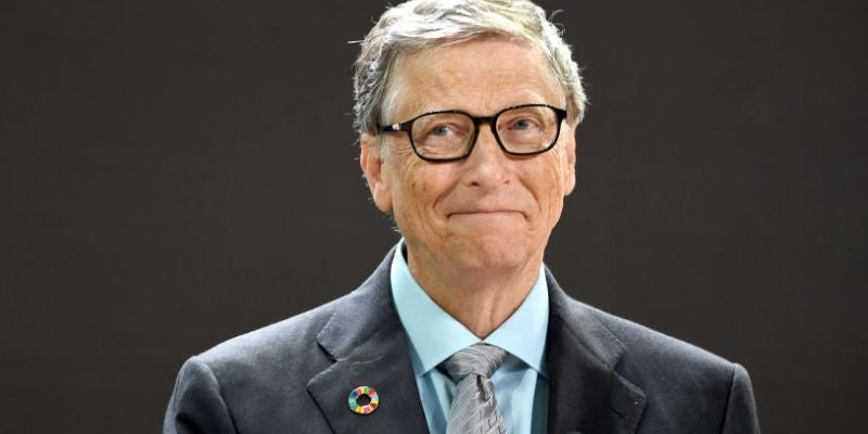 Bill Gates, co-founder and non-executive chairman of Microsoft