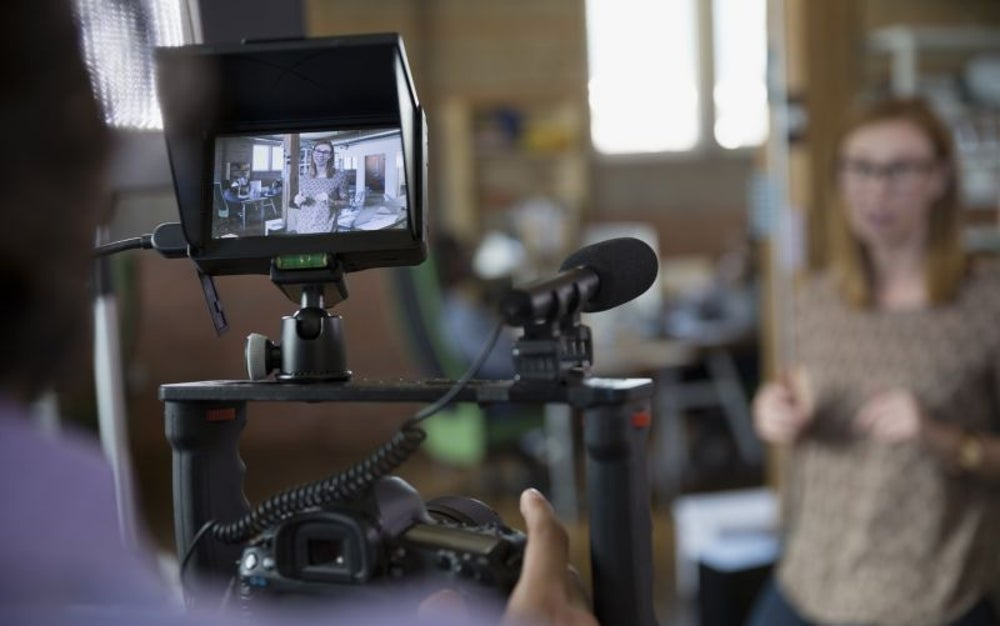 Television, video and motion picture camera operators and editors