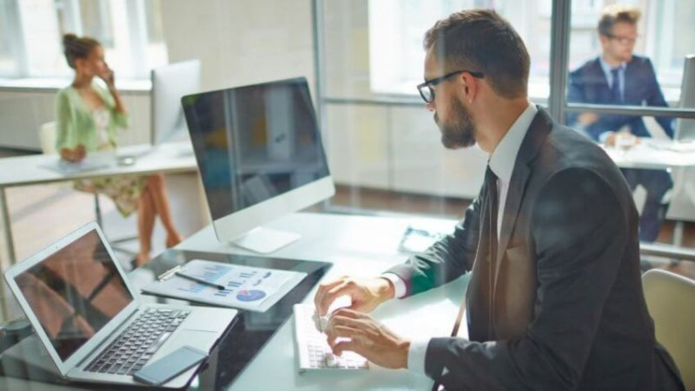 Sit up straight at your desk
