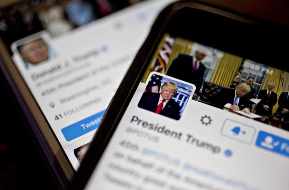 """A Twitter contractor """"accidentally"""" disabled President Donald Trump's account."""