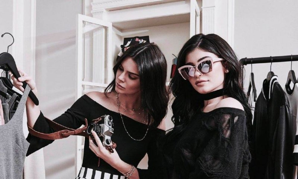 Kendall and Kylie Jenner introduce copycat clothing line, then pull it.