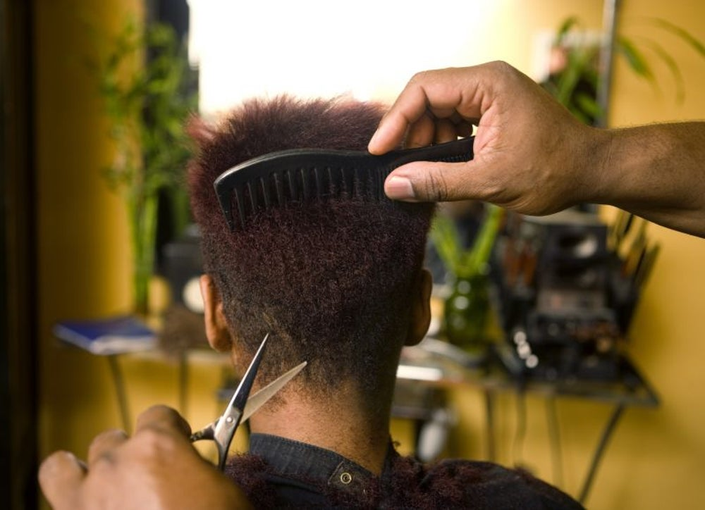 A man who gives haircuts to the homeless is gifted a free barbershop.