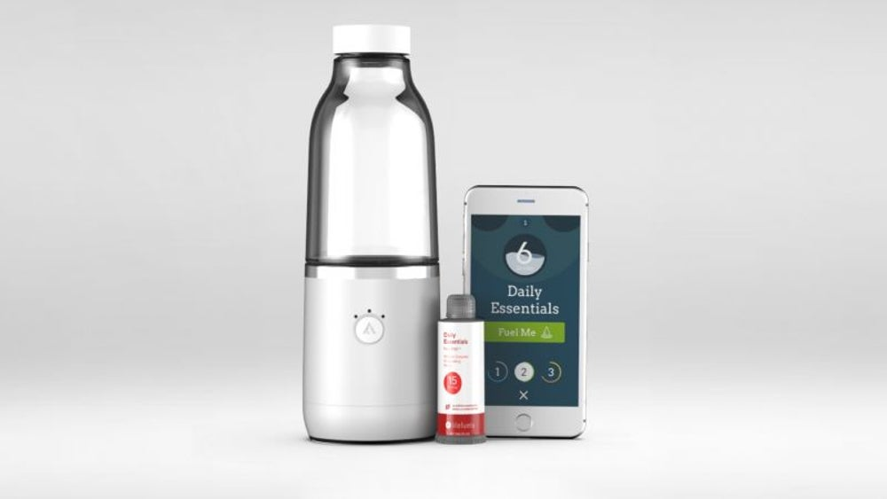 A water bottle that keeps you hydrated and nourished
