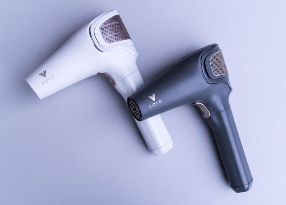 A cordless hair dryer for when you blow a fuse.