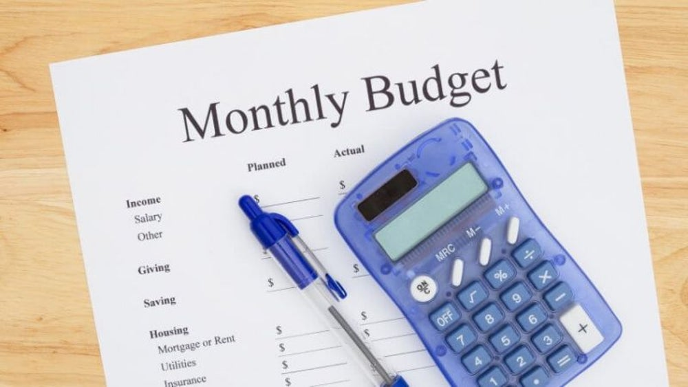 February: Get serious about a budget