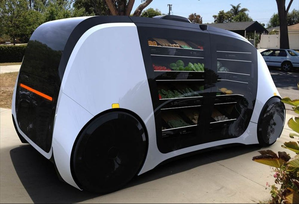 A grocery store on wheels.