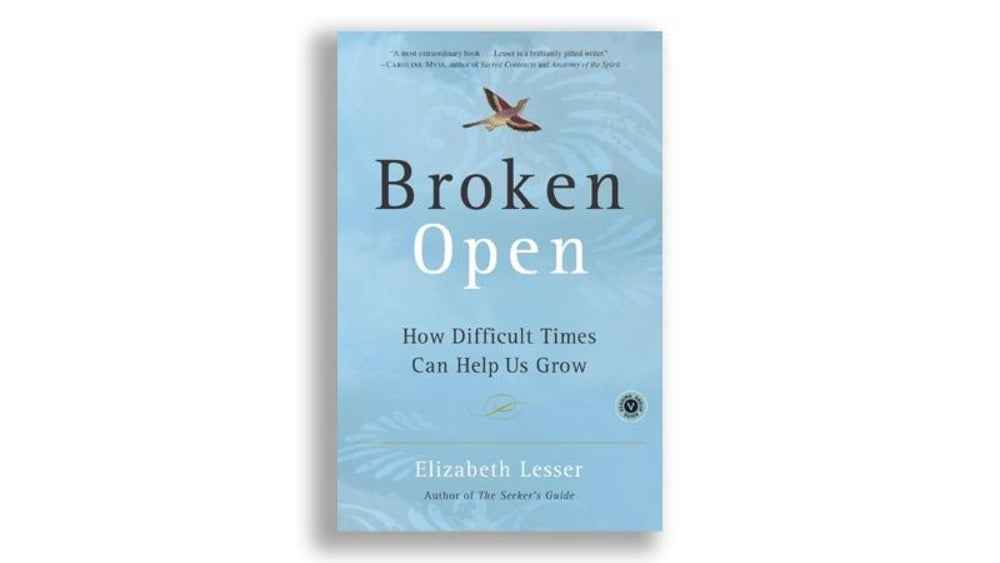 """Broken Open"" by Elizabeth Lesser"