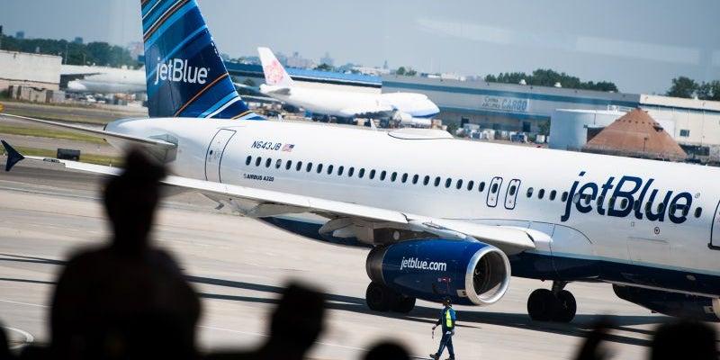 A flight attendant escaped via the plane's emergency chute.