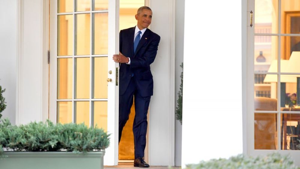 Former President Barack Obama made thank-you calls.