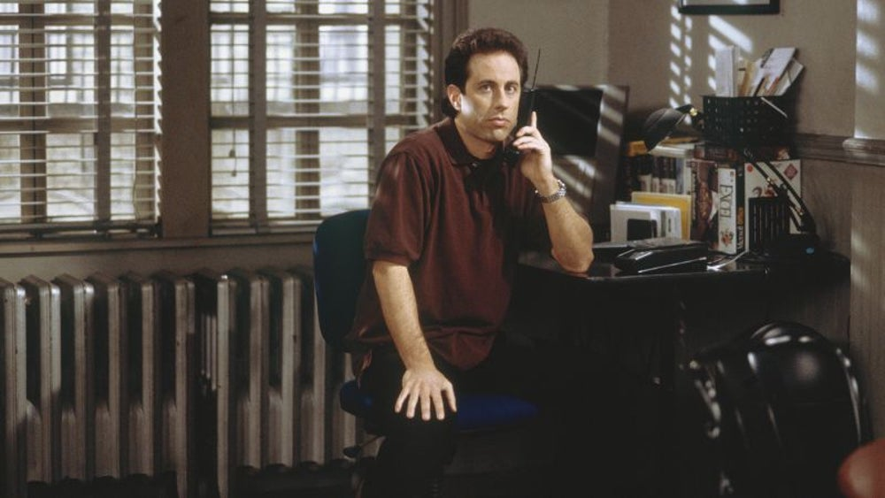 Jerry Seinfeld said, 'Today is the last day I go to work.'