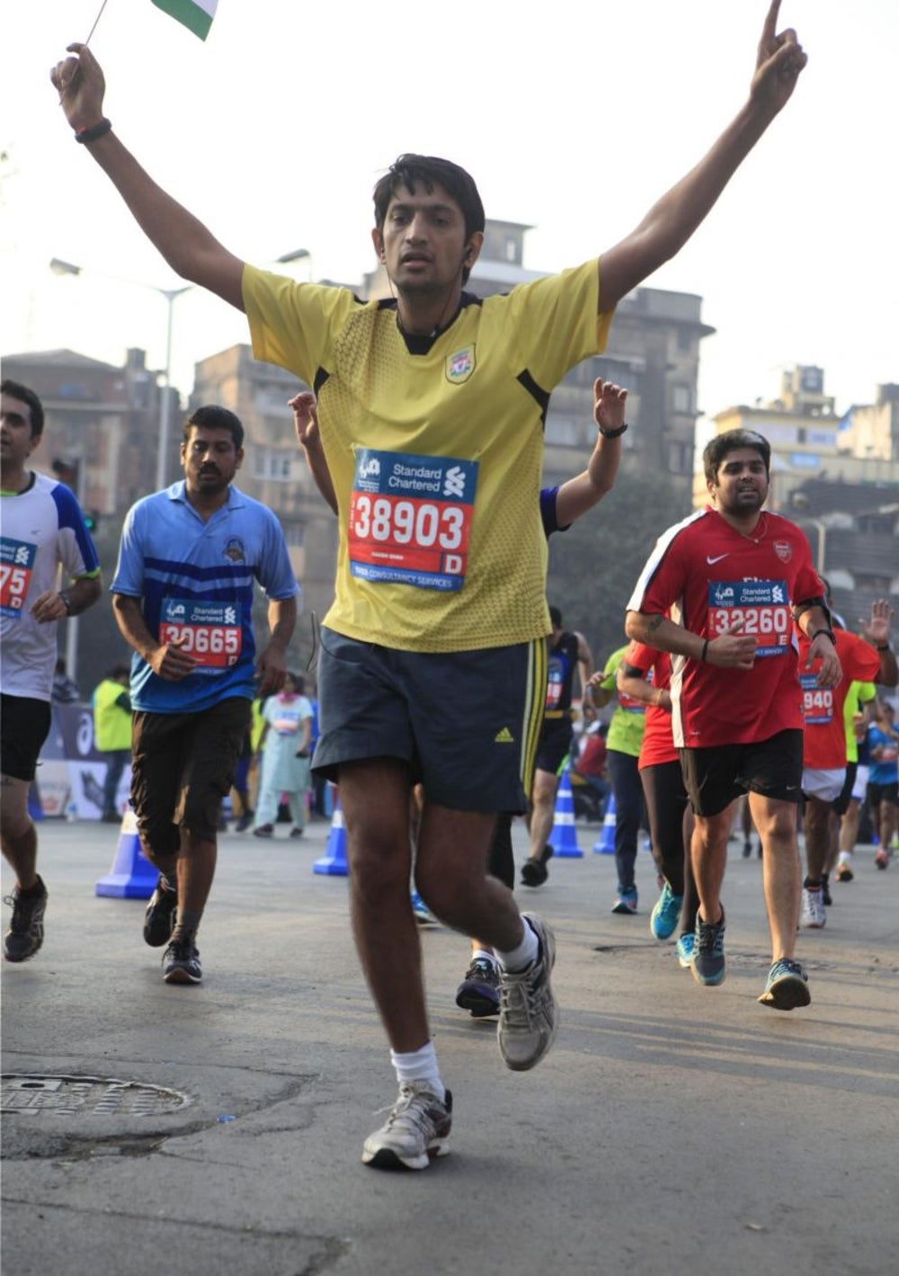 MARATHON RUNNING IS A WAY OF LIVING LIFE