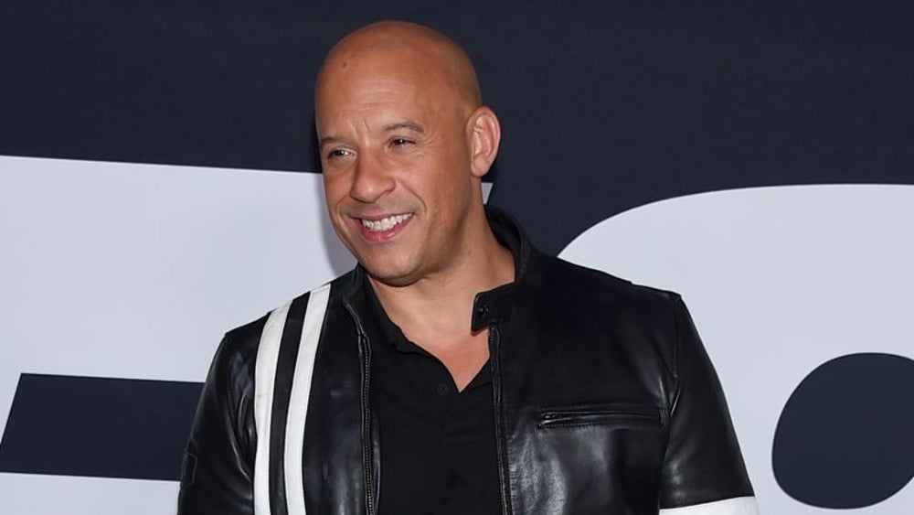 Vin Diesel, $54.4 million