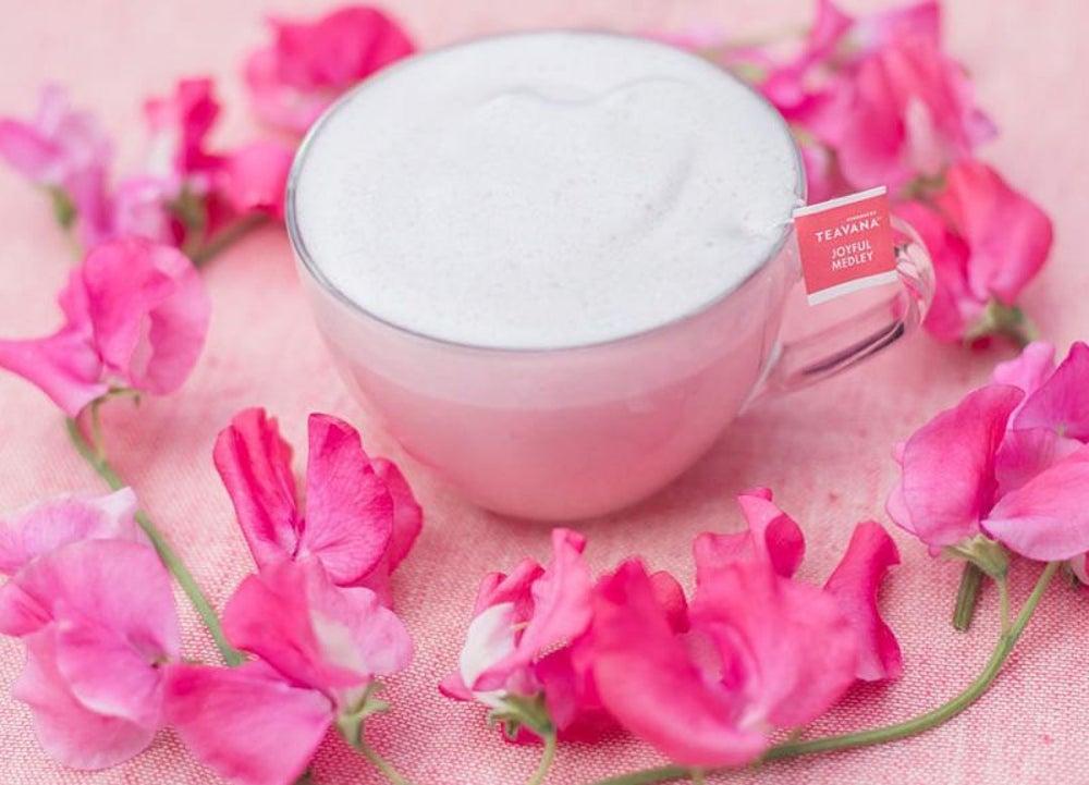 Pink Medley Tea Latte, Starbucks, Japan