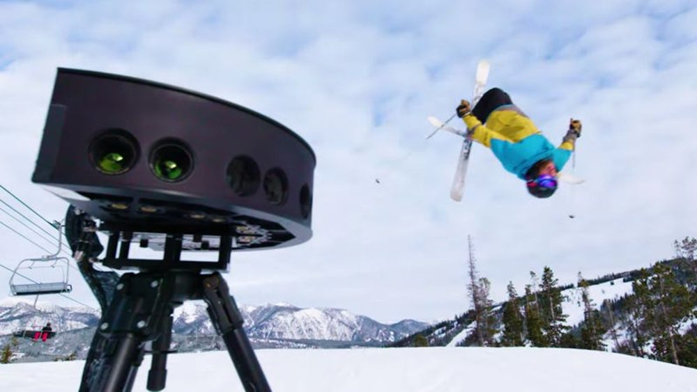 Intel is capturing the Olympics live in VR.