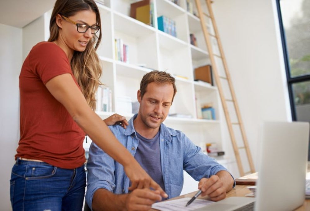Help from a spouse can boost a freelancer's income.