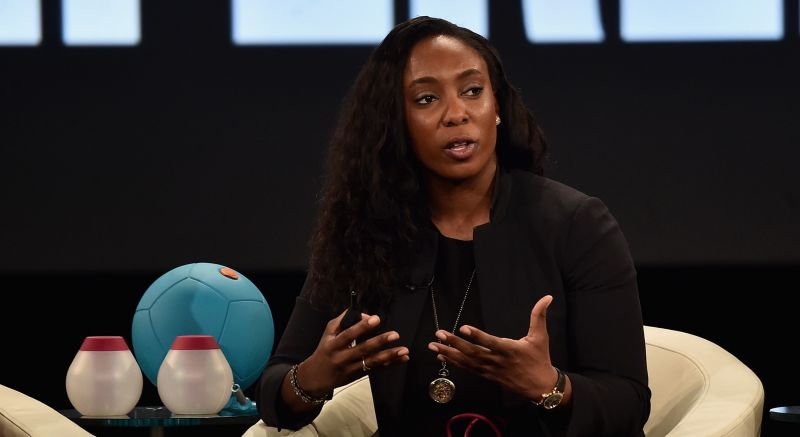 Jessica O. Matthews, founder and CEO of Uncharted Power