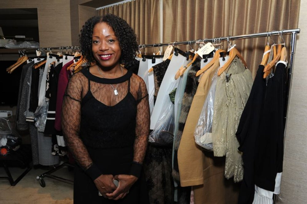 Tracy Reese, founder, president and designer of Tracy Reese Designs, Inc.