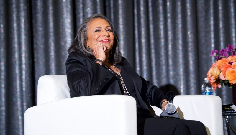 Cathy Hughes, founder and chairperson of Urban One, Inc.