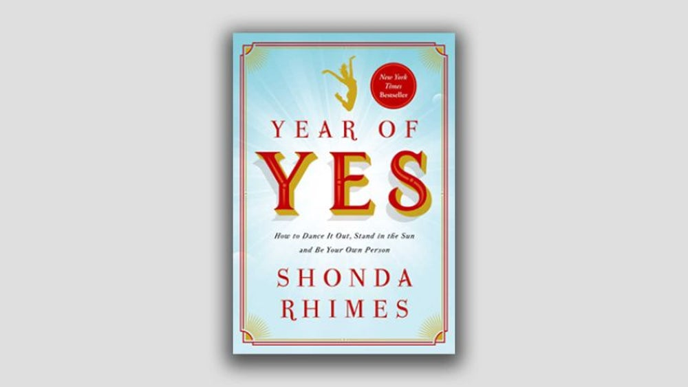"""Years of Yes"" by Shonda Rhimes"