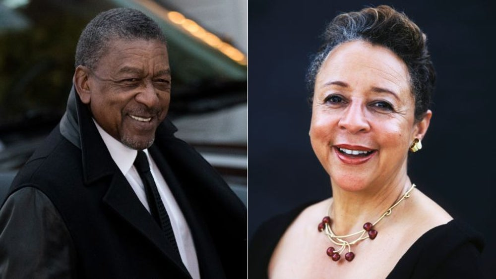 Robert L. Johnson & Sheila Johnson