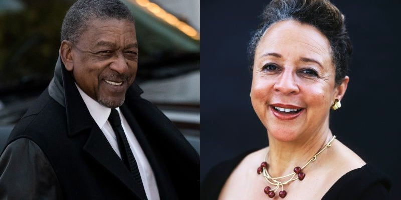 Robert L. Johnson & Sheila Johnson