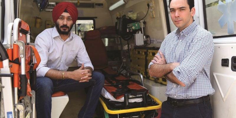 An Uber For Ambulances - Prabhdeep Singh, 29