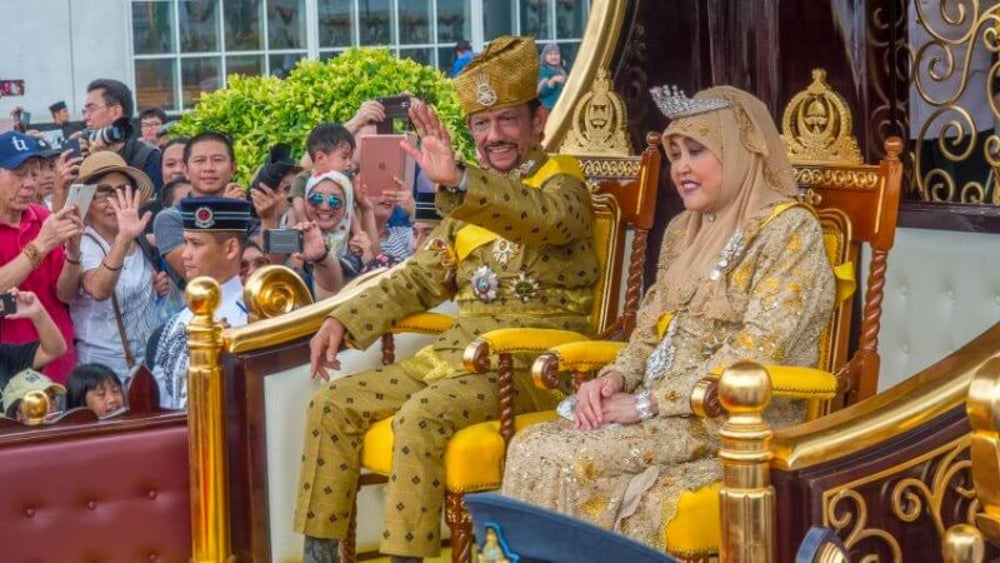 The Sultan of Brunei's car collection