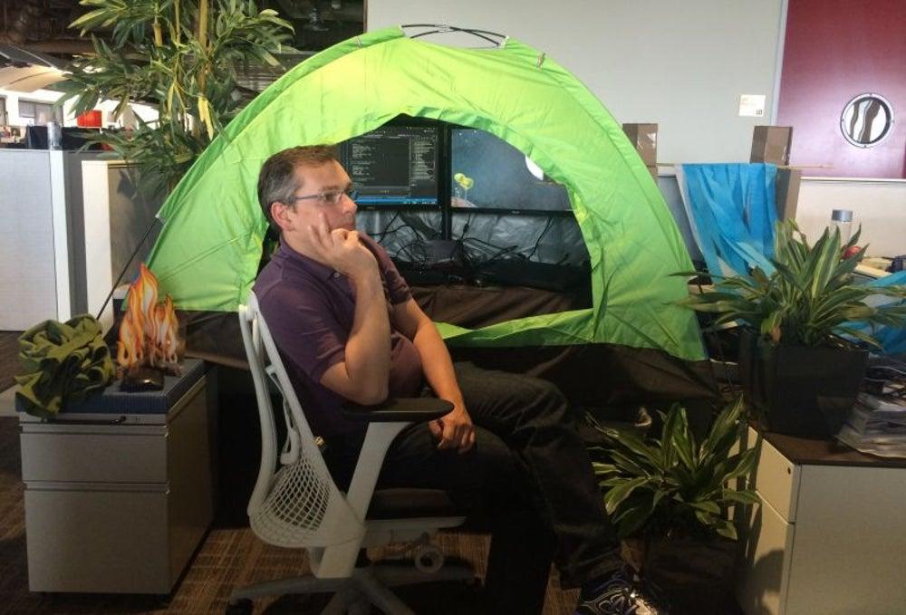 A camping trip