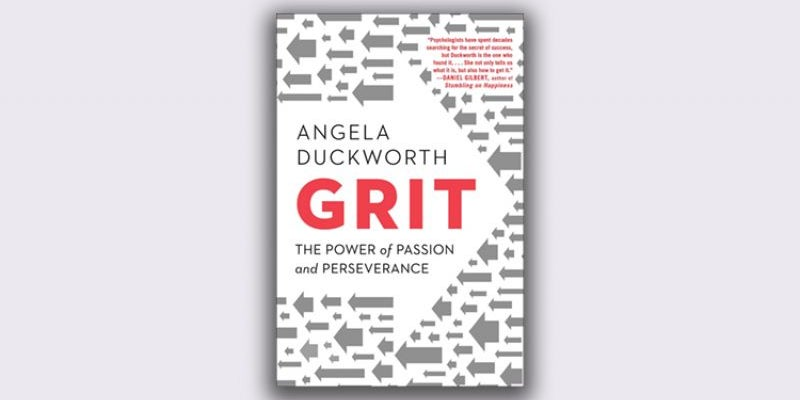 'Grit: The Power of Passion and Perseverance' by Angela Duckworth