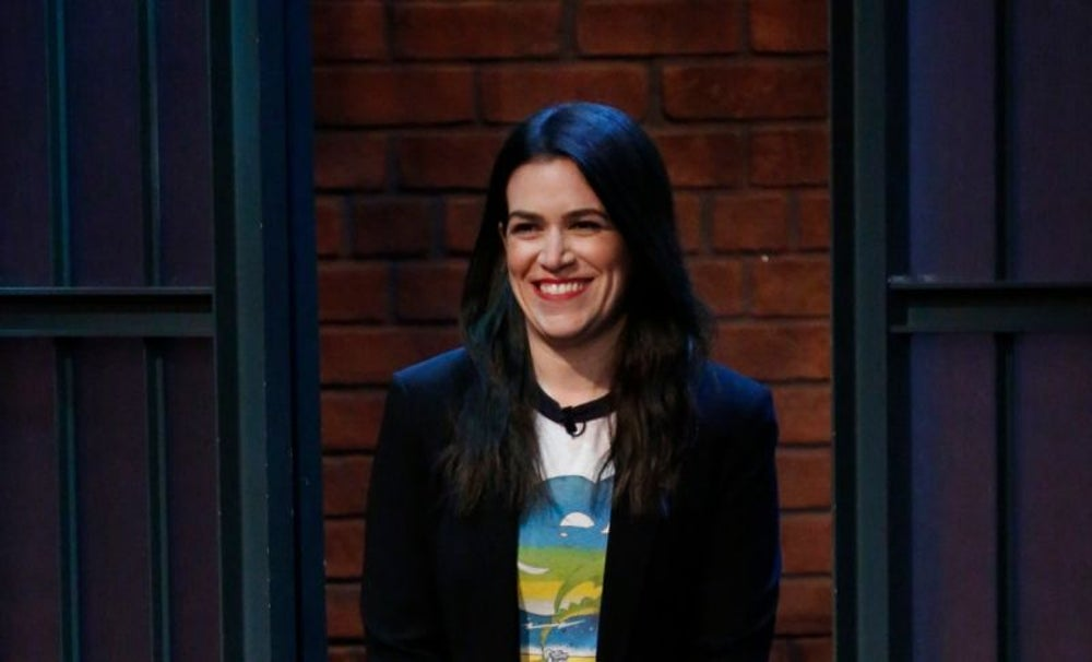 Abbi Jacobson, comedian and actress