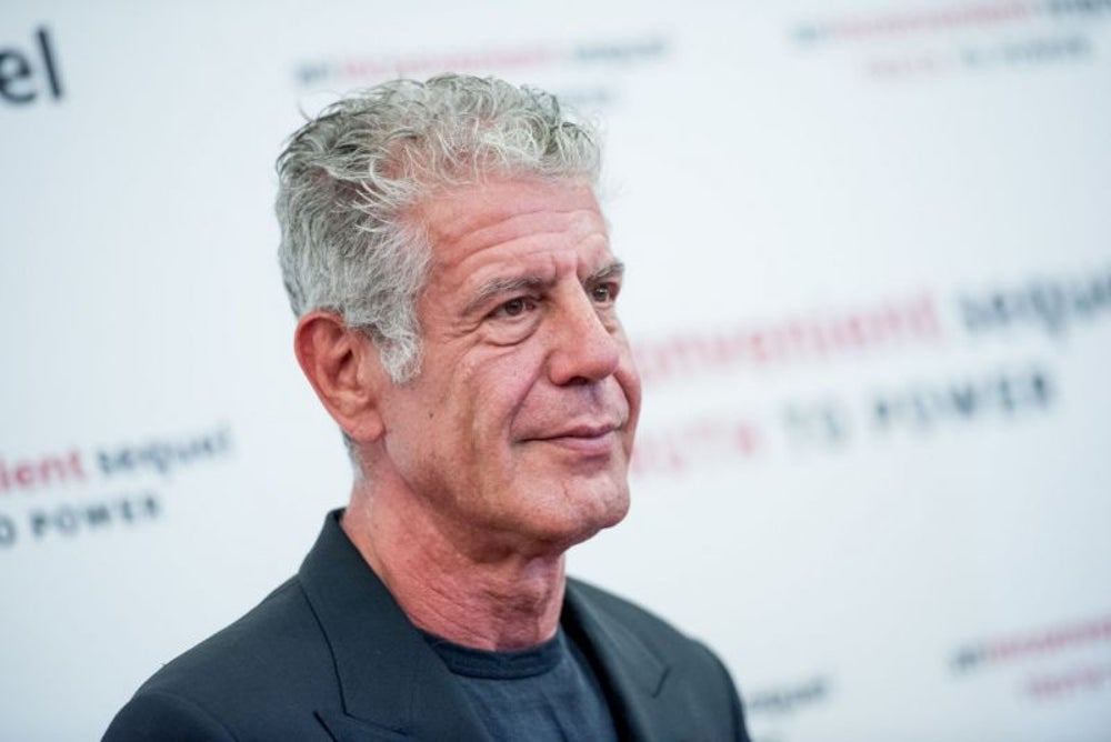 Anthony Bourdain, chef and TV personality