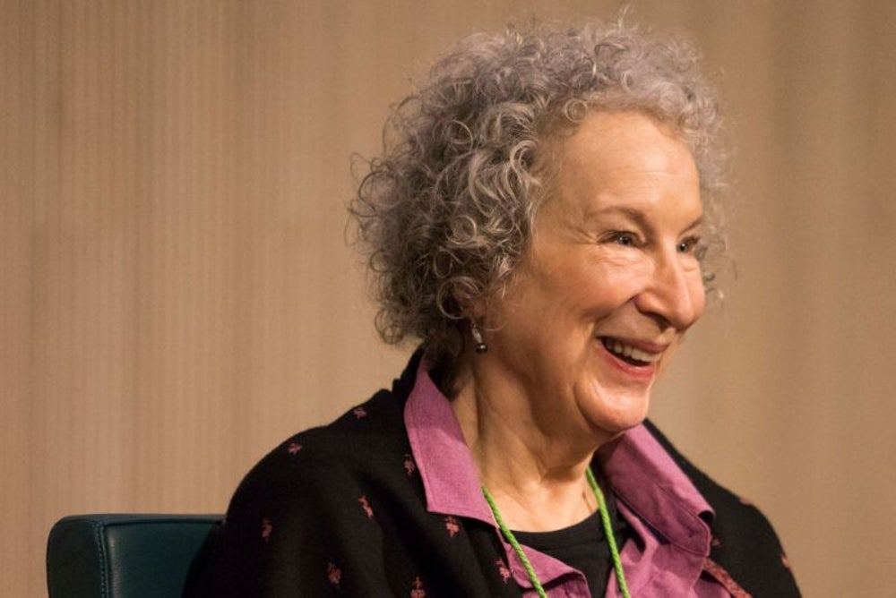 Margaret Atwood, author