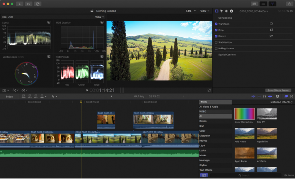Final Cut Pro X jobs, $37.12/hour