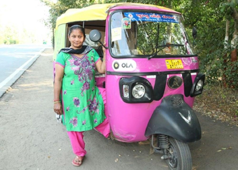 Jasuben, Ola Auto, Ahmedabad