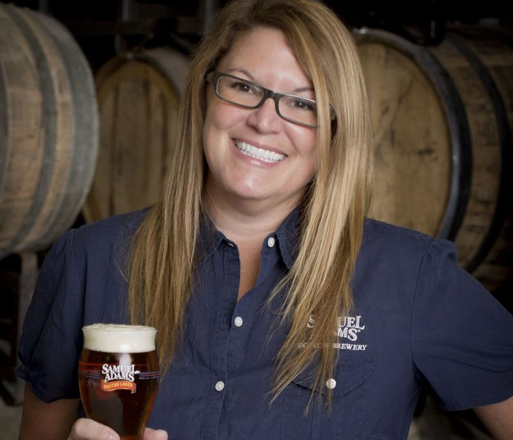 Jennifer Glanville, brewery manager and brewer at Sam Adams