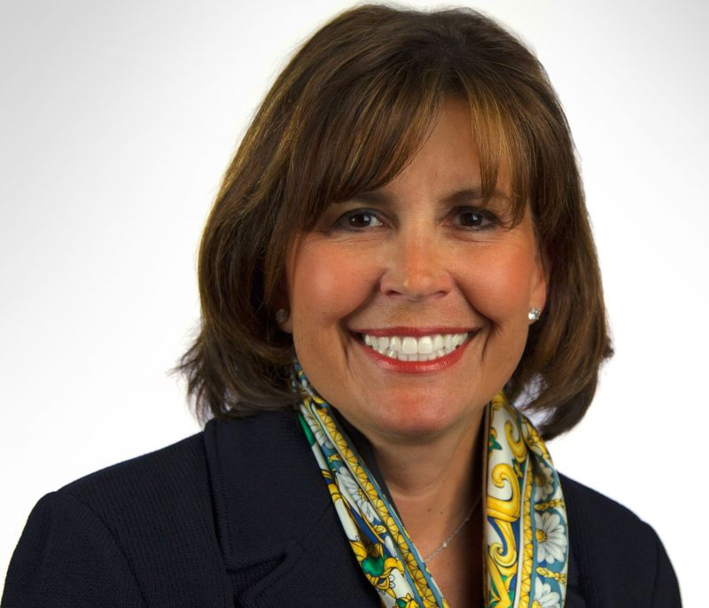 Kathy Hannan, national president and chairman of the board of Girl Scouts of the USA