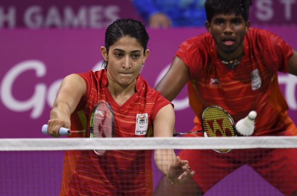 Ashwini Ponnappa (Badminton Mixed Doubles)