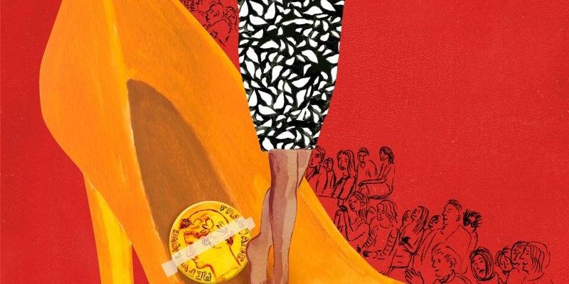 Diane von Furstenberg has a lucky shoe coin.