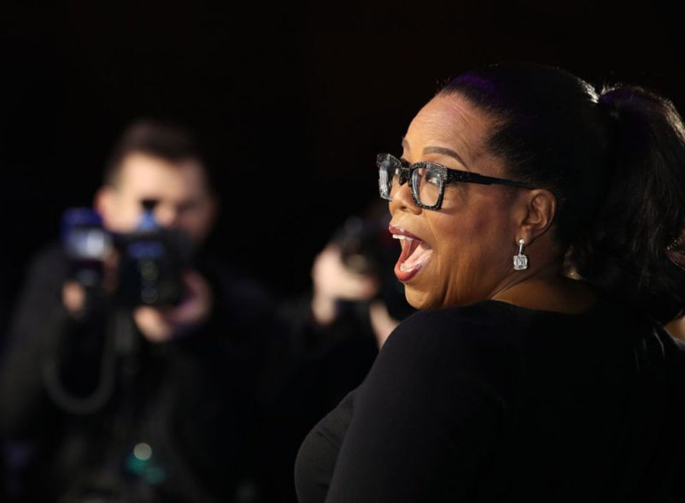 From a poor Mississippi farm, Oprah Winfrey became a legendary talk show host.