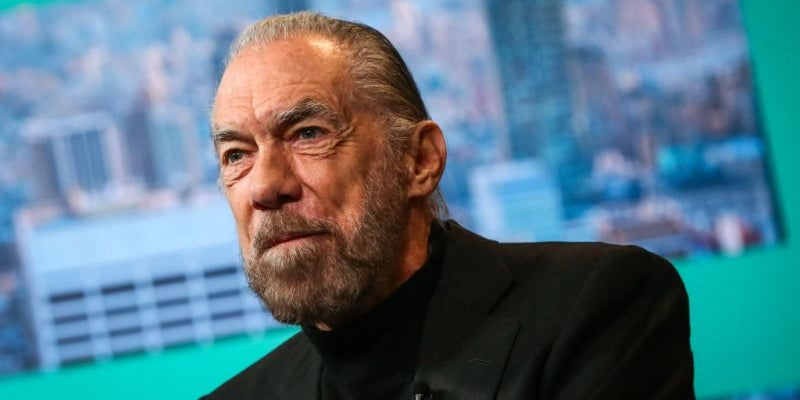 John Paul DeJoria was homeless before he found his niche in hair care.