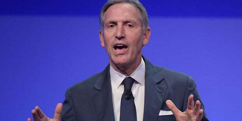 Howard Schultz sold his blood to pay for college before launching Starbucks.