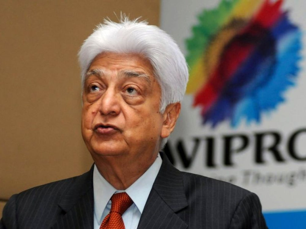 16. Azim Premji, chairman of Wipro Limited
