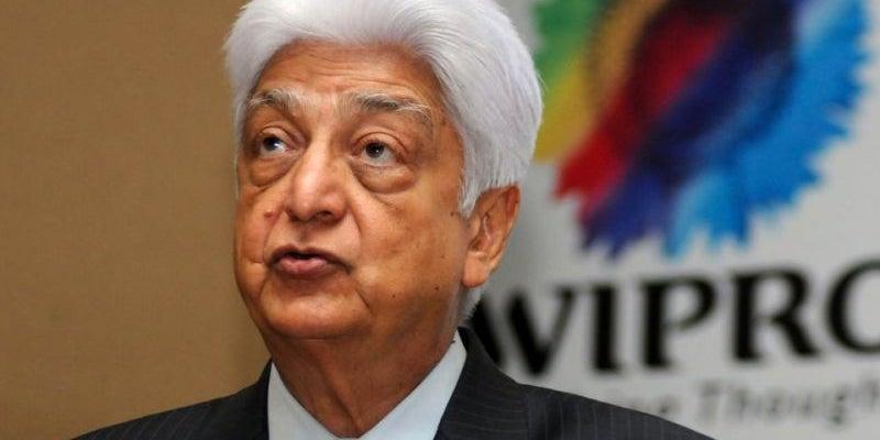 16. Azim Premji, chairman of Wipro Limited
