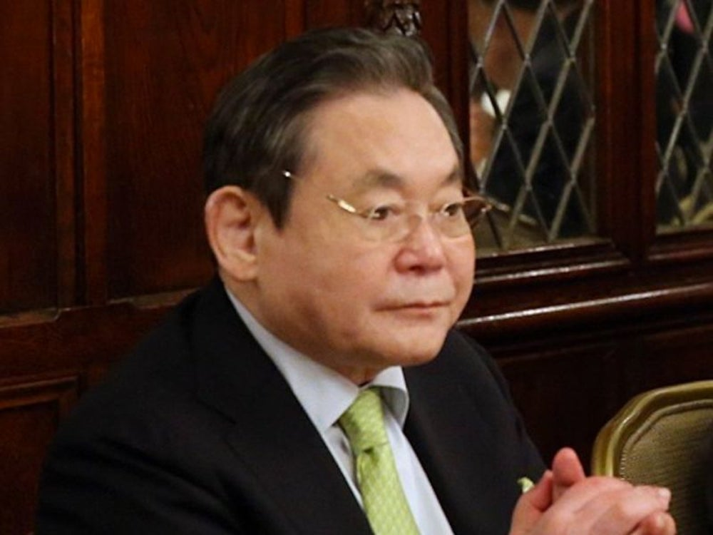 13. Lee Kun-Hee, chairman of Samsung Group