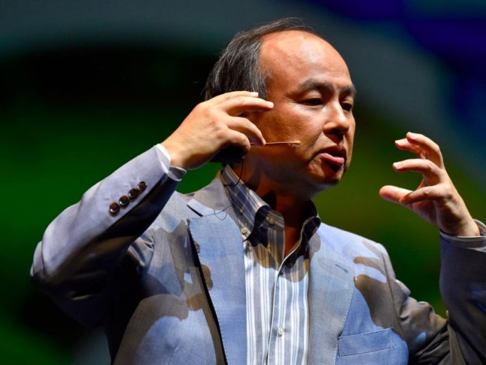11. Masayoshi Son, founder and CEO of SoftBank