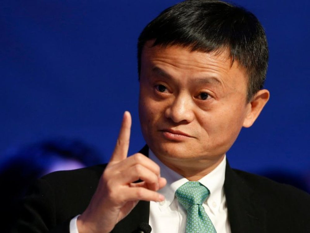 9. Jack Ma, executive chairman of Alibaba Group